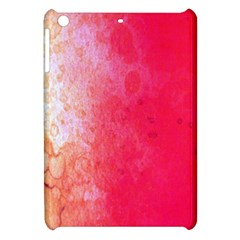 Abstract Red And Gold Ink Blot Gradient Apple iPad Mini Hardshell Case
