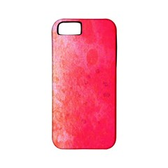 Abstract Red And Gold Ink Blot Gradient Apple iPhone 5 Classic Hardshell Case (PC+Silicone)