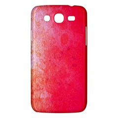 Abstract Red And Gold Ink Blot Gradient Samsung Galaxy Mega 5 8 I9152 Hardshell Case