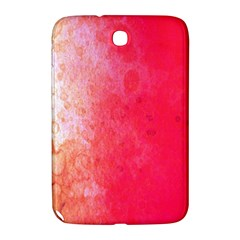 Abstract Red And Gold Ink Blot Gradient Samsung Galaxy Note 8 0 N5100 Hardshell Case