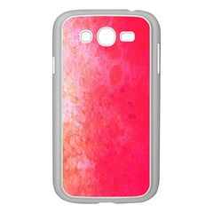 Abstract Red And Gold Ink Blot Gradient Samsung Galaxy Grand Duos I9082 Case (white)