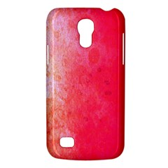 Abstract Red And Gold Ink Blot Gradient Galaxy S4 Mini