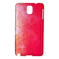 Abstract Red And Gold Ink Blot Gradient Samsung Galaxy Note 3 N9005 Hardshell Case