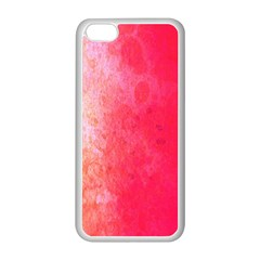 Abstract Red And Gold Ink Blot Gradient Apple Iphone 5c Seamless Case (white)