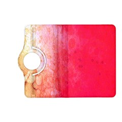 Abstract Red And Gold Ink Blot Gradient Kindle Fire HD (2013) Flip 360 Case