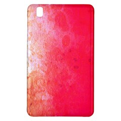 Abstract Red And Gold Ink Blot Gradient Samsung Galaxy Tab Pro 8 4 Hardshell Case