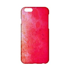 Abstract Red And Gold Ink Blot Gradient Apple Iphone 6/6s Hardshell Case
