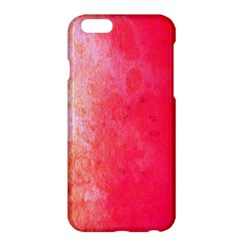 Abstract Red And Gold Ink Blot Gradient Apple Iphone 6 Plus/6s Plus Hardshell Case
