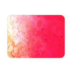 Abstract Red And Gold Ink Blot Gradient Double Sided Flano Blanket (mini)