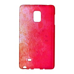 Abstract Red And Gold Ink Blot Gradient Galaxy Note Edge