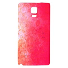 Abstract Red And Gold Ink Blot Gradient Galaxy Note 4 Back Case