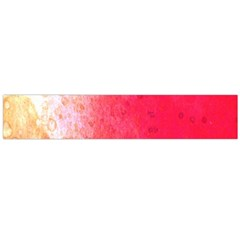 Abstract Red And Gold Ink Blot Gradient Flano Scarf (Large)