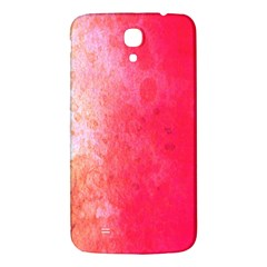 Abstract Red And Gold Ink Blot Gradient Samsung Galaxy Mega I9200 Hardshell Back Case