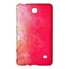 Abstract Red And Gold Ink Blot Gradient Samsung Galaxy Tab 4 (7 ) Hardshell Case