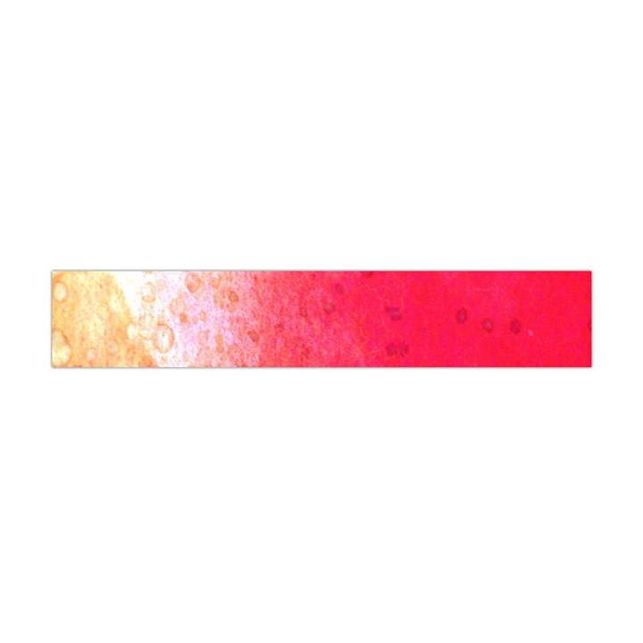 Abstract Red And Gold Ink Blot Gradient Flano Scarf (Mini)