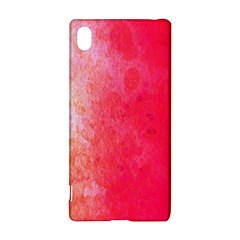 Abstract Red And Gold Ink Blot Gradient Sony Xperia Z3+