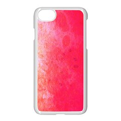 Abstract Red And Gold Ink Blot Gradient Apple Iphone 7 Seamless Case (white)