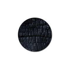 Black Burnt Wood Texture Golf Ball Marker (10 Pack)