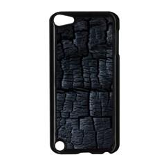 Black Burnt Wood Texture Apple Ipod Touch 5 Case (black)