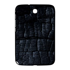 Black Burnt Wood Texture Samsung Galaxy Note 8.0 N5100 Hardshell Case