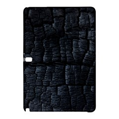 Black Burnt Wood Texture Samsung Galaxy Tab Pro 12 2 Hardshell Case