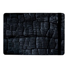 Black Burnt Wood Texture Samsung Galaxy Tab Pro 10 1  Flip Case