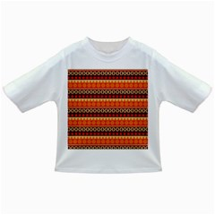 Abstract Lines Seamless Art  Pattern Infant/toddler T Shirts