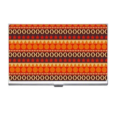 Abstract Lines Seamless Art  Pattern Business Card Holders
