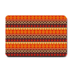 Abstract Lines Seamless Art  Pattern Small Doormat