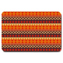 Abstract Lines Seamless Art  Pattern Large Doormat