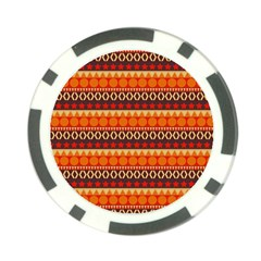 Abstract Lines Seamless Art  Pattern Poker Chip Card Guard