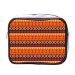 Abstract Lines Seamless Art  Pattern Mini Toiletries Bags Front