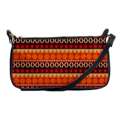 Abstract Lines Seamless Art  Pattern Shoulder Clutch Bags