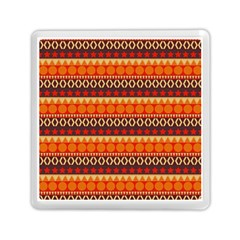 Abstract Lines Seamless Art  Pattern Memory Card Reader (square)
