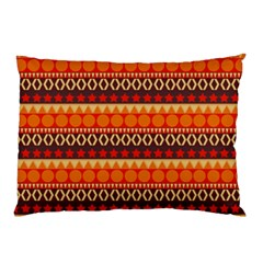 Abstract Lines Seamless Art  Pattern Pillow Case (two Sides)