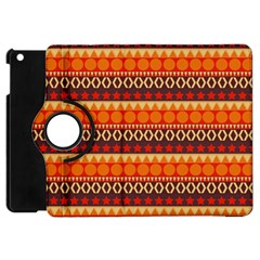 Abstract Lines Seamless Art  Pattern Apple Ipad Mini Flip 360 Case