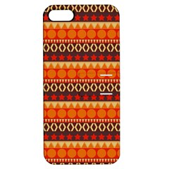 Abstract Lines Seamless Art  Pattern Apple Iphone 5 Hardshell Case With Stand