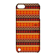 Abstract Lines Seamless Art  Pattern Apple Ipod Touch 5 Hardshell Case With Stand