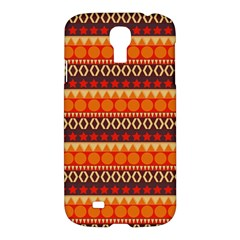 Abstract Lines Seamless Art  Pattern Samsung Galaxy S4 I9500/i9505 Hardshell Case