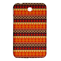Abstract Lines Seamless Art  Pattern Samsung Galaxy Tab 3 (7 ) P3200 Hardshell Case