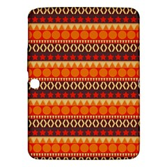 Abstract Lines Seamless Art  Pattern Samsung Galaxy Tab 3 (10 1 ) P5200 Hardshell Case