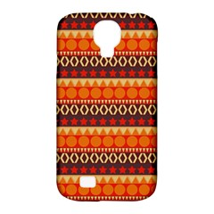 Abstract Lines Seamless Art  Pattern Samsung Galaxy S4 Classic Hardshell Case (pc+silicone)