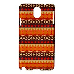 Abstract Lines Seamless Art  Pattern Samsung Galaxy Note 3 N9005 Hardshell Case
