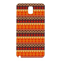 Abstract Lines Seamless Art  Pattern Samsung Galaxy Note 3 N9005 Hardshell Back Case