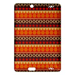 Abstract Lines Seamless Art  Pattern Amazon Kindle Fire Hd (2013) Hardshell Case