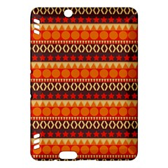 Abstract Lines Seamless Art  Pattern Kindle Fire Hdx Hardshell Case