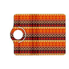 Abstract Lines Seamless Art  Pattern Kindle Fire Hd (2013) Flip 360 Case