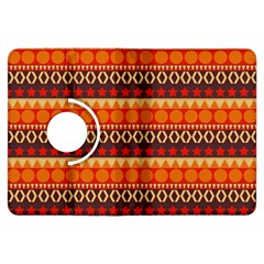 Abstract Lines Seamless Art  Pattern Kindle Fire HDX Flip 360 Case