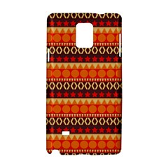 Abstract Lines Seamless Art  Pattern Samsung Galaxy Note 4 Hardshell Case