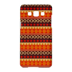 Abstract Lines Seamless Art  Pattern Samsung Galaxy A5 Hardshell Case